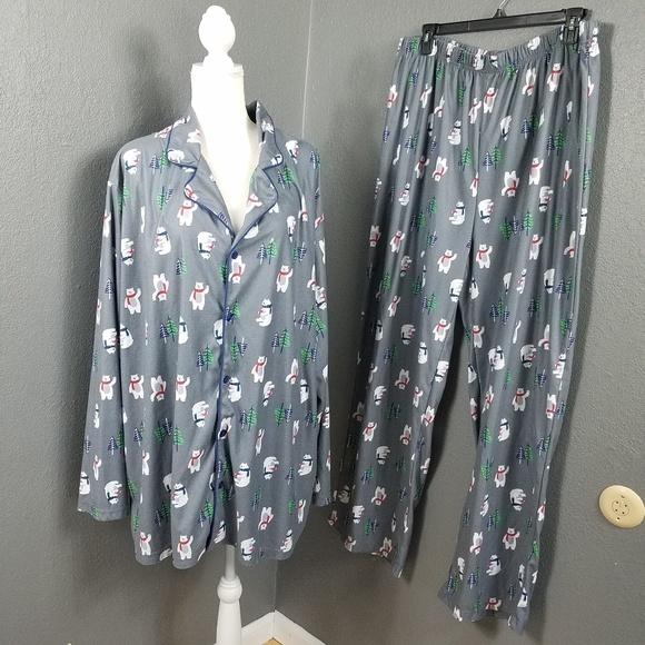 d5be165623 Toast   Jammies Pajamas PJ Holiday Set 2X Plus. M 5b967bd1c89e1d29d0fff2ad